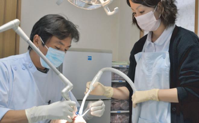 人と話すのが好きだから、歯科医は自分の性格に向いていると思います。