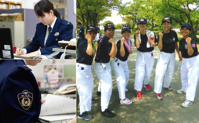 昇任試験に合格した九州各地の警察官と研修の合間に