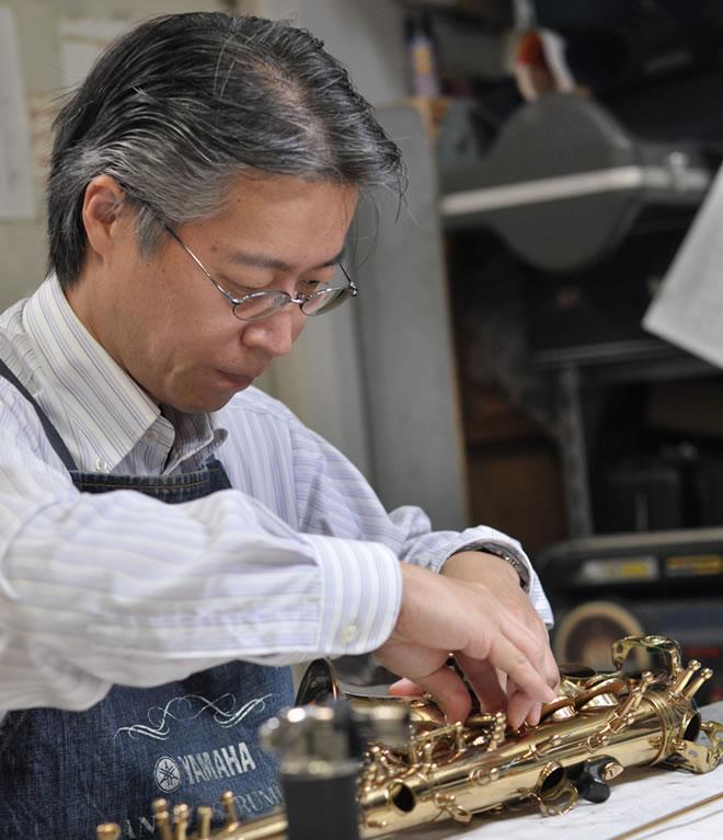 管楽器リペア師