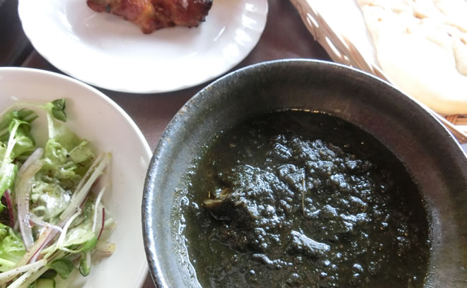 鹿児島緑茶緑カレー